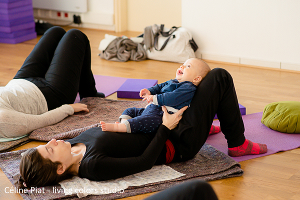 Yoga Postnatal - Photo Céline Piat